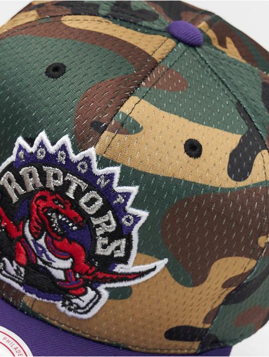 Mitchell & Ness Snapback Caps Woodland Toronto Raptors Cover kamuflasje