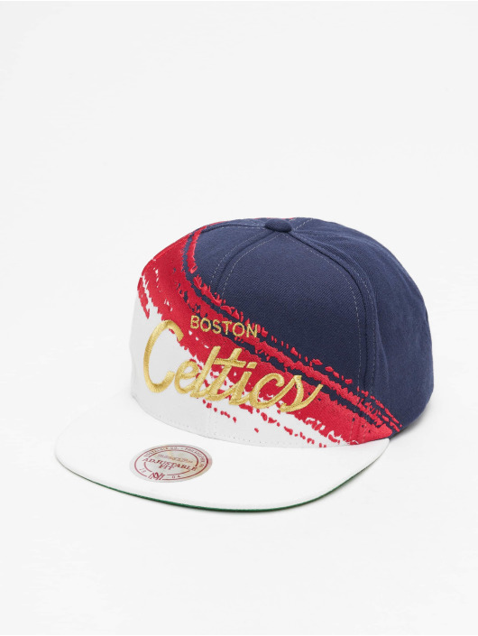 Mitchell & Ness Snapback Caps Independence Boston Celtics modrý