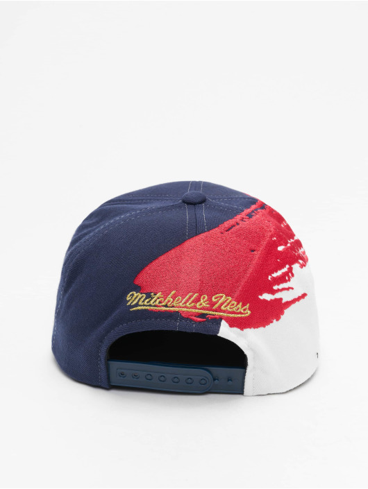 Mitchell & Ness Snapback Caps Independence Golden State Warriors modrý