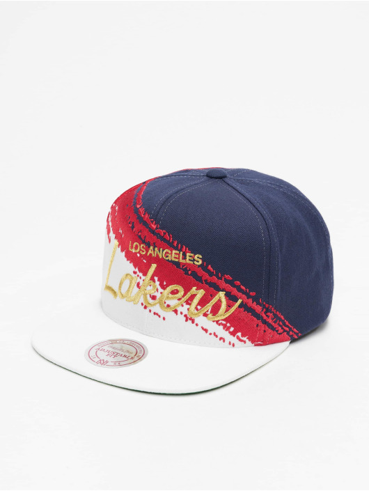 Mitchell & Ness Snapback Caps Independence LA Lakers modrý