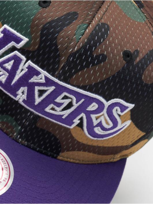 Mitchell & Ness Snapback Caps Woodland LA Lakers Cover moro