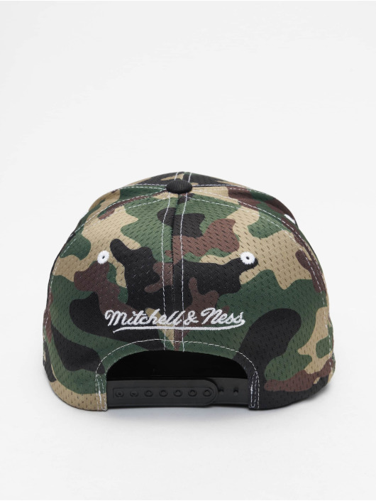 Mitchell & Ness Snapback Caps Mesh Camo moro