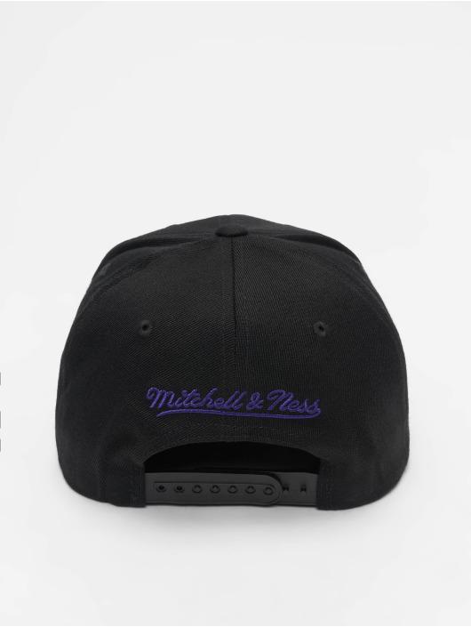 Mitchell & Ness Snapback Caps NBA LA Lakers 110 2 Tone musta