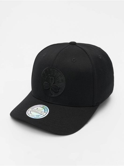 Mitchell & Ness Snapback Caps NBA Boston Celtics 110 Black On Black musta