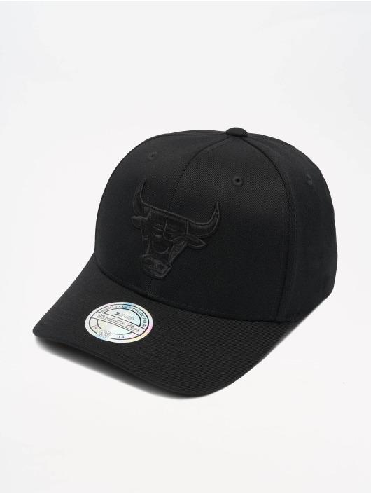Mitchell & Ness Snapback Caps NBA Chicago Bulls 110 Black On Black musta