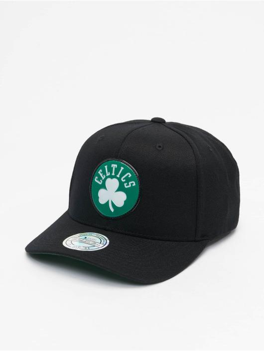 Mitchell & Ness Snapback Caps Chrome Logo Boston Celtics musta