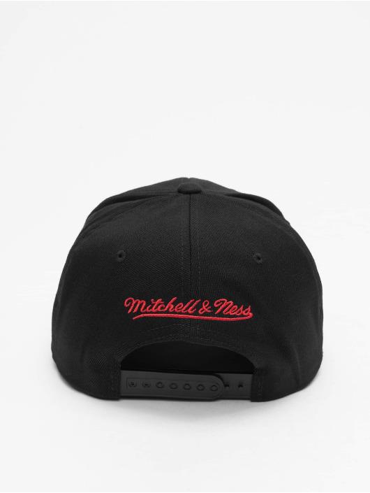 Mitchell & Ness Snapback Caps Chrome Logo Toronto Raptors musta