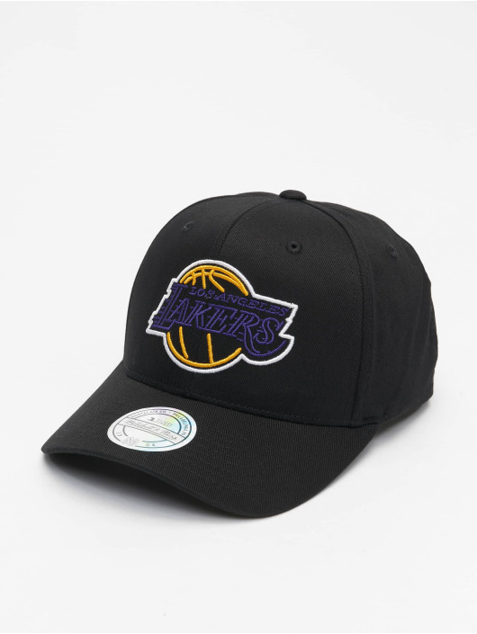 Mitchell & Ness Snapback Caps L.A. Lakers musta