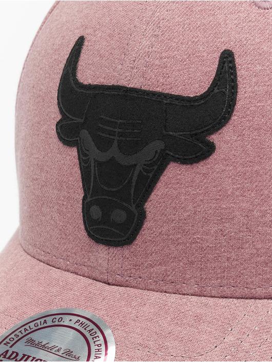 Mitchell & Ness Snapback Caps NBA Erode Chicago Bulls pink