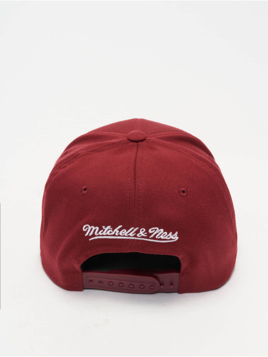 Mitchell & Ness Snapback Caps NBA Houston Rockets 110 Curved rød