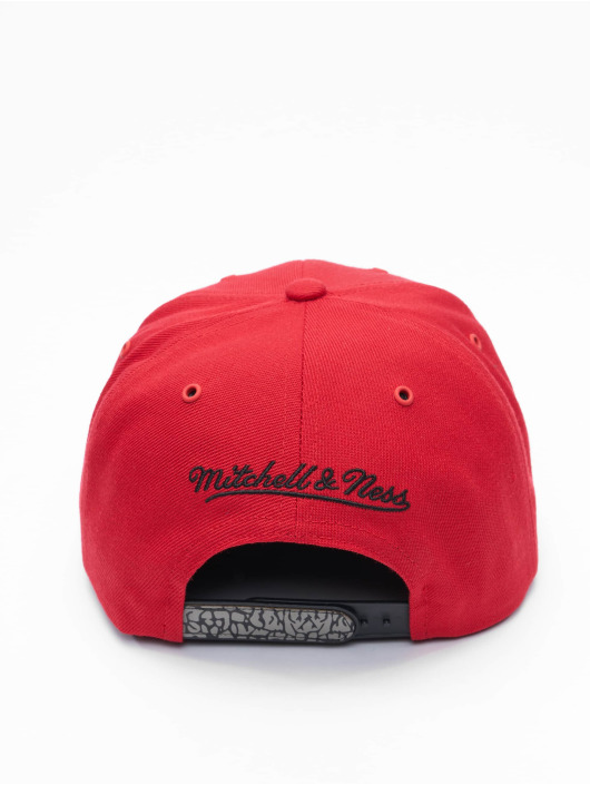 Mitchell & Ness Snapback Caps Day 3 Chicago Bulls red