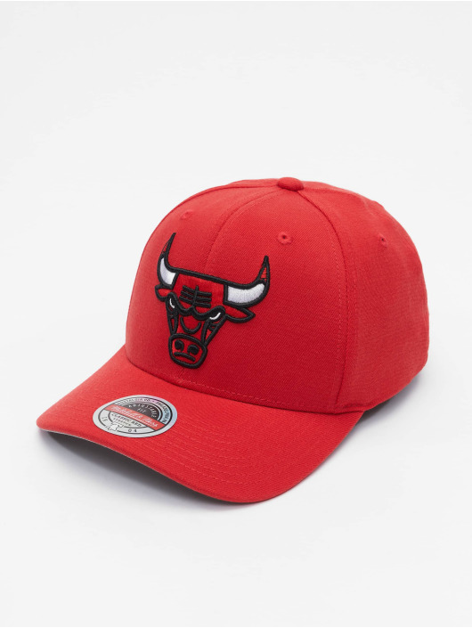 Mitchell & Ness Snapback Caps Team Ground Chicago Bulls Stretch red