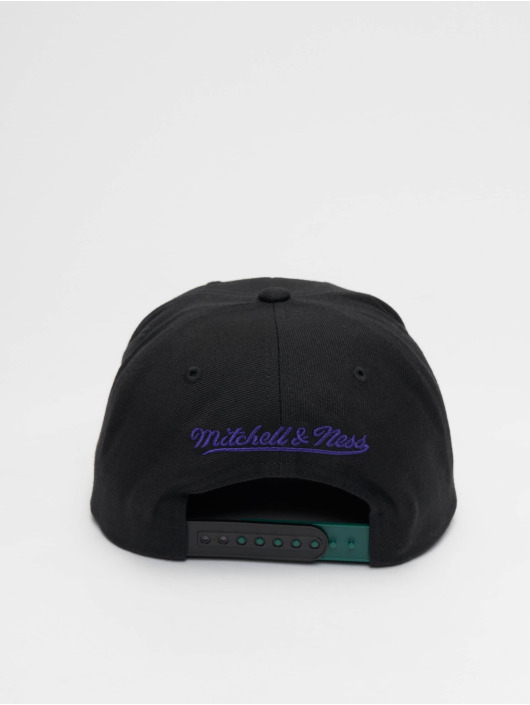 Mitchell & Ness Snapback Caps Woodland Toronto Raptors Blind svart