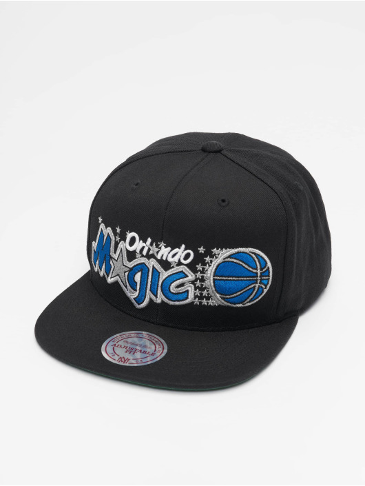 Mitchell & Ness Snapback Caps NBA Orlando Magic Wool Solid svart