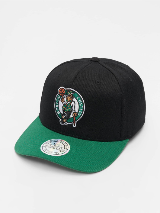 Mitchell & Ness Snapback Caps NBA Boston Celtics 110 2 Tone svart