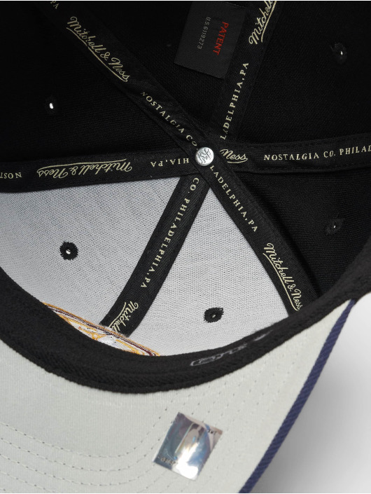 Mitchell & Ness Snapback Caps NBA Denver Nuggets 110 2 Tone svart