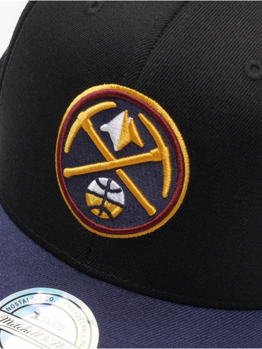 Mitchell & Ness Snapback Caps NBA Denver Nuggets 110 2 Tone svart
