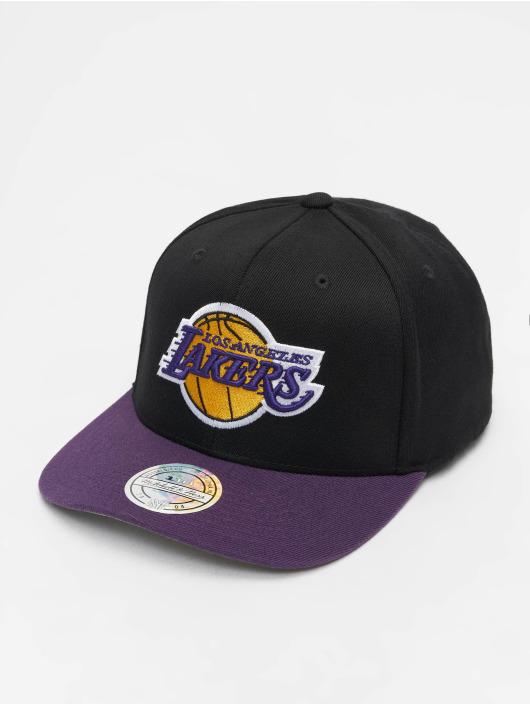 Mitchell & Ness Snapback Caps NBA LA Lakers 110 2 Tone svart