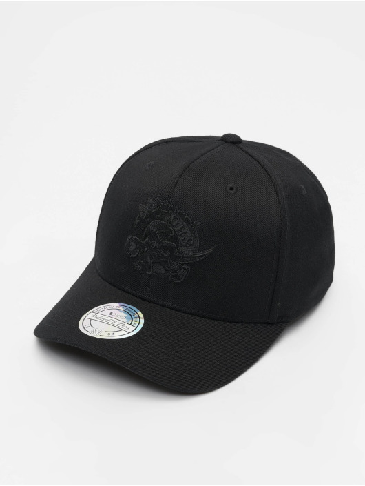 Mitchell & Ness Snapback Caps NBA Toronto Raptors 110 Black On Black svart