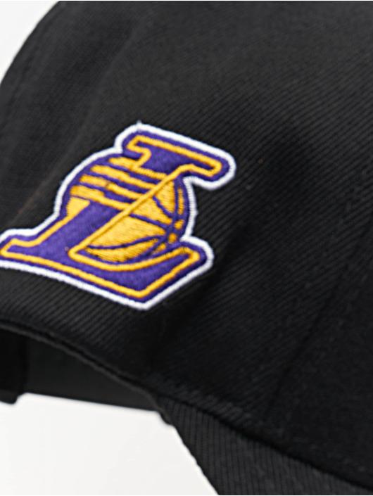 Mitchell & Ness Snapback Caps NBA LA Lakers 110 Curved Eazy svart