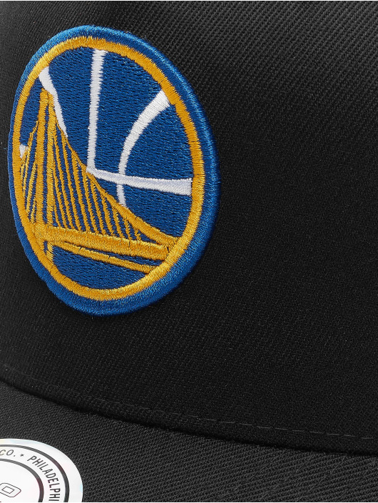 Mitchell & Ness Snapback Caps NBA HWC Eazy 110 Curved Golden State svart