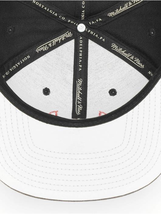 Mitchell & Ness Snapback Caps Reflective Duo Chicago Bulls svart