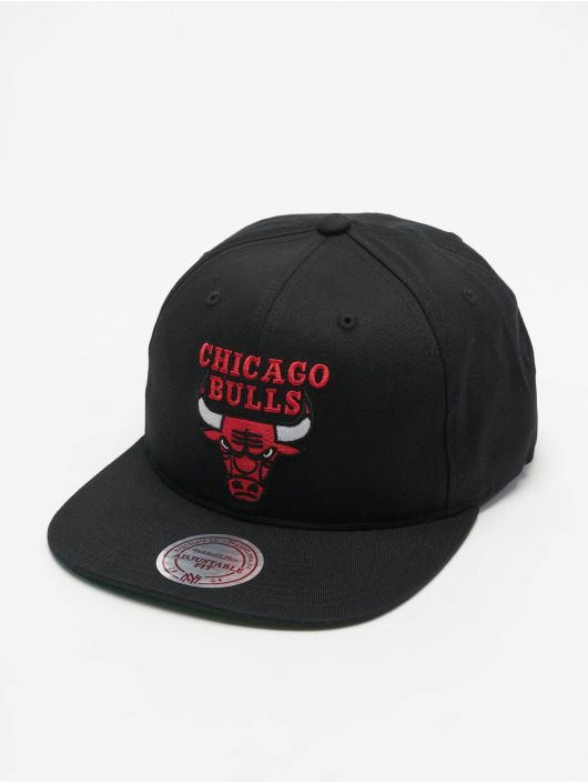 Mitchell & Ness Snapback Caps NBA Team Logo Deadstock Throwback svart