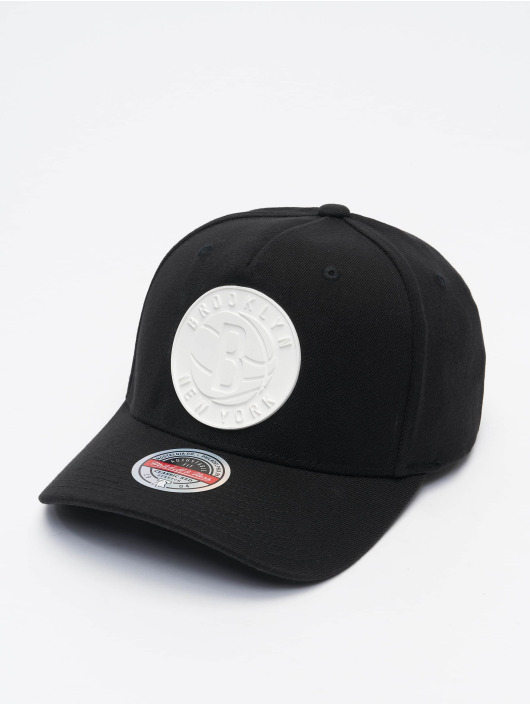 Mitchell & Ness Snapback Caps Casper Redline Brooklyn Nets svart