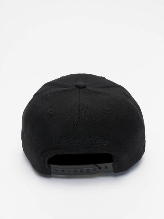 Mitchell & Ness Snapback Caps Black Out Arch Redline Miami Heat svart
