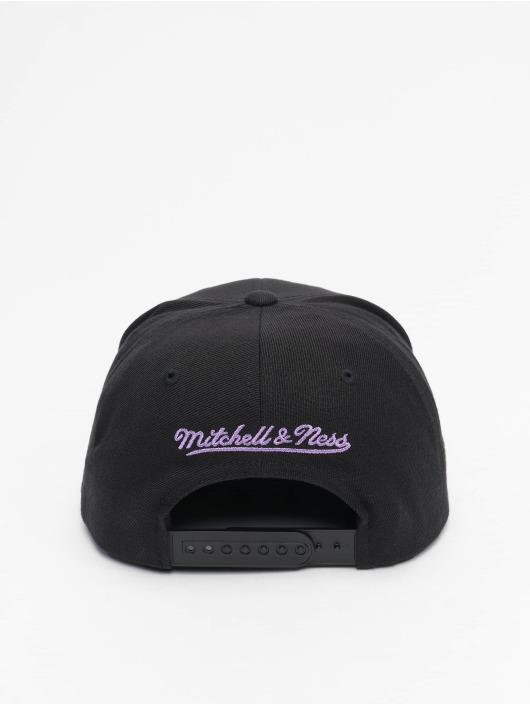 Mitchell & Ness Snapback Caps Foundation Script HWC Los Angeles Lakers svart