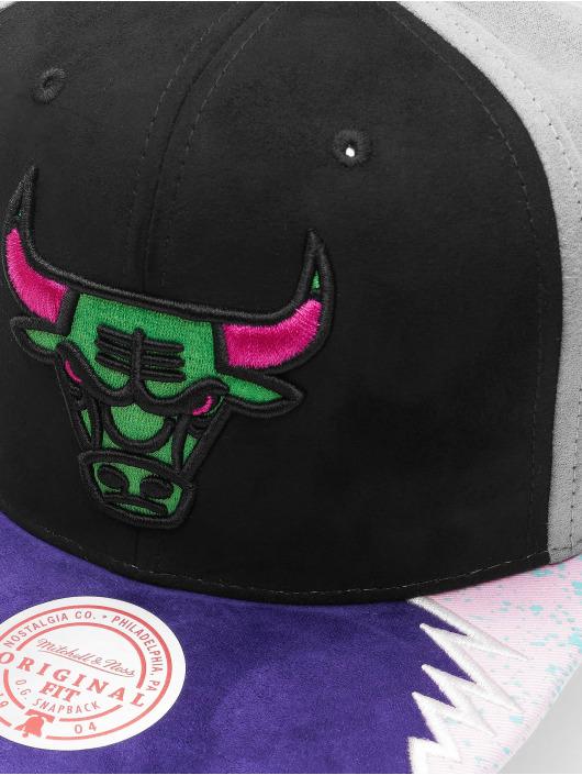 Mitchell & Ness Snapback Caps Day 5 Chicago Bulls svart