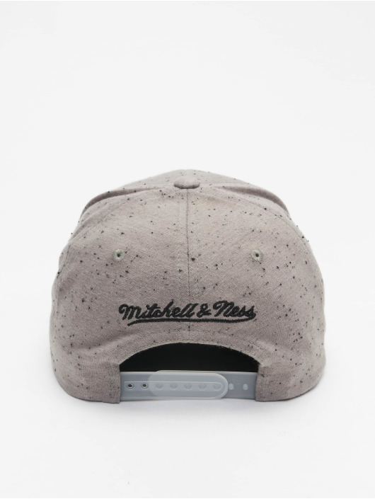 Mitchell & Ness Snapback Caps Chicago Bulls Speck szary