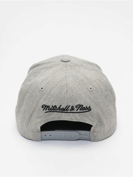 Mitchell & Ness Snapback Caps NBA Blk/Wht Logo 110 szary