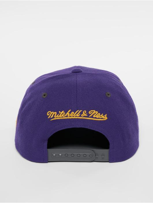 Mitchell & Ness Snapback HWC LA Lakers Melange Patch fialová