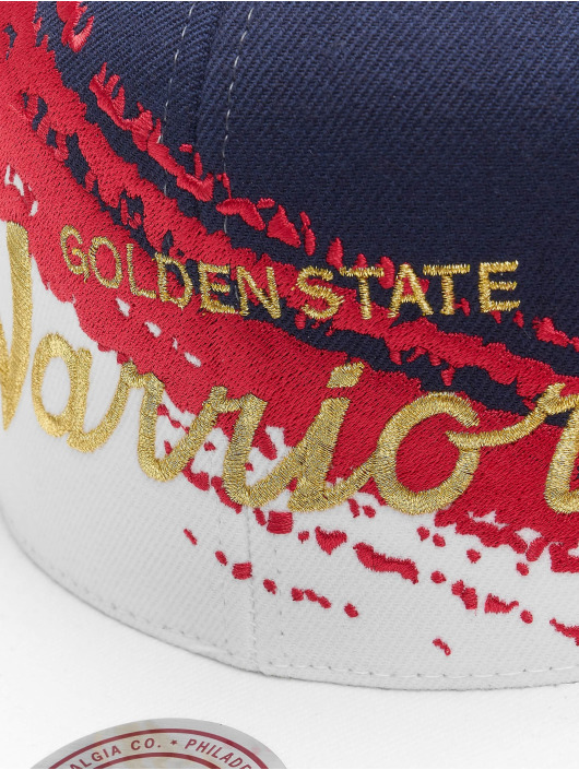 Mitchell & Ness Snapbackkeps Independence Golden State Warriors blå