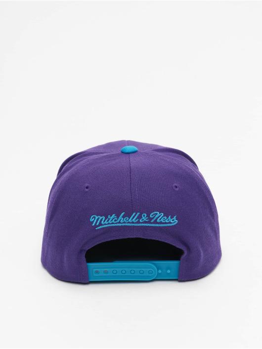 Mitchell & Ness Snapbackkeps Wool 2 Tone HWC Utah Jazz lila