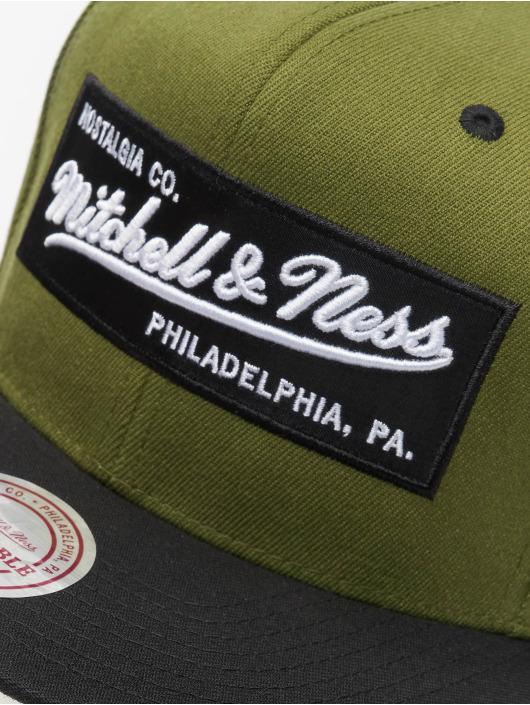 Mitchell & Ness Snapbackkeps Branded Box Logo oliv