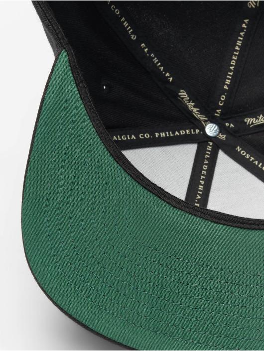 Mitchell & Ness Snapbackkeps NBA Wool Solid svart