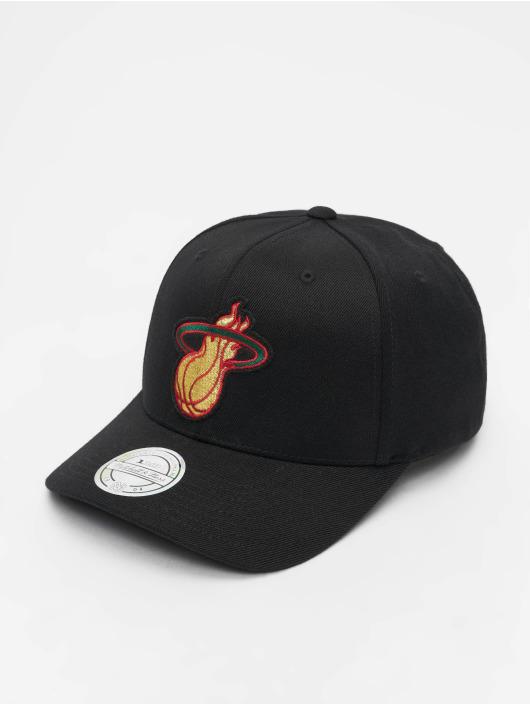 Mitchell & Ness Snapbackkeps NBA Miami Heat Luxe 110 svart