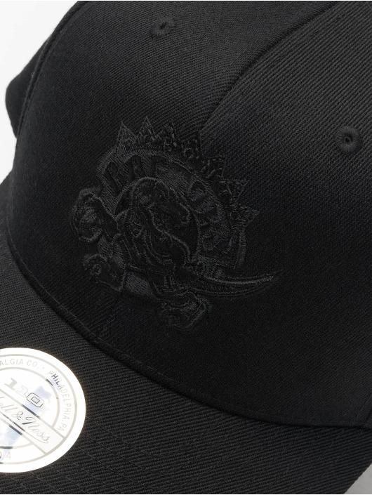 Mitchell & Ness Snapbackkeps NBA Toronto Raptors 110 Black On Black svart
