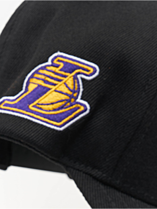 Mitchell & Ness Snapbackkeps NBA LA Lakers 110 Curved Eazy svart