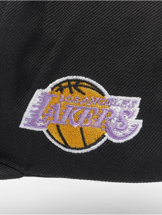 Mitchell & Ness Snapbackkeps Foundation Script HWC Los Angeles Lakers svart
