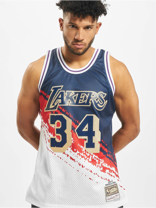 Mitchell & Ness Sport tricot Independence Swingman LA Lakers S. O'neal blauw