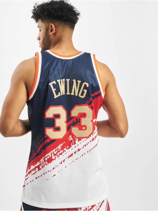 Mitchell & Ness Sport tricot Independence Swingman NY Knicks P. Ewing J blauw