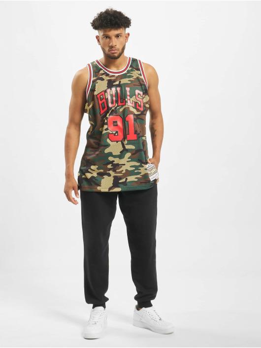 Mitchell & Ness Sport tricot NBA Chicago Bulls Swingman D. Rodman camouflage