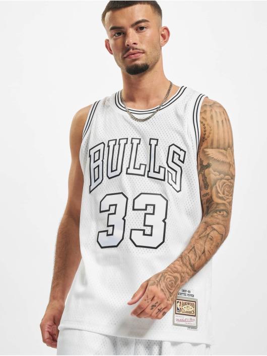 Mitchell & Ness Tank Tops Swingman Chicago Bulls Scottie Pippen bialy