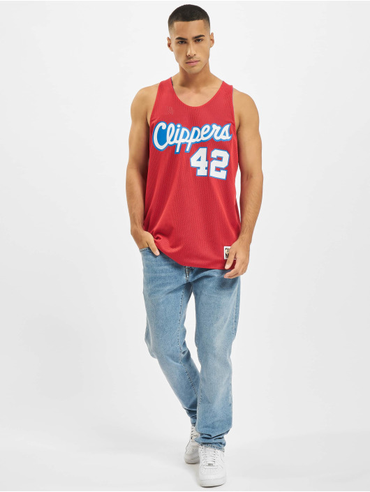 Mitchell & Ness Tank Tops Reversible Los Angeles Clippers Elton Brand blau