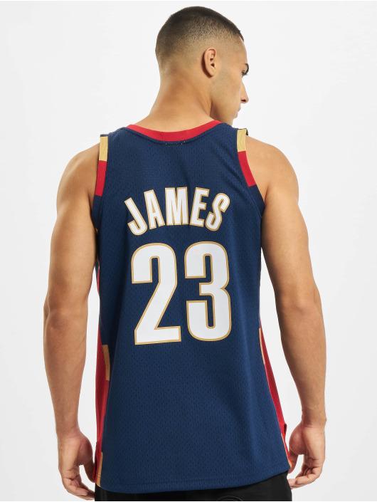 Mitchell & Ness Tank Tops NBA Swingman Cleveland Cavaliers Lebron James blue