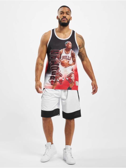 Mitchell & Ness Tank Tops NBA Chicago Bulls Behind The Back  D. Rodman schwarz