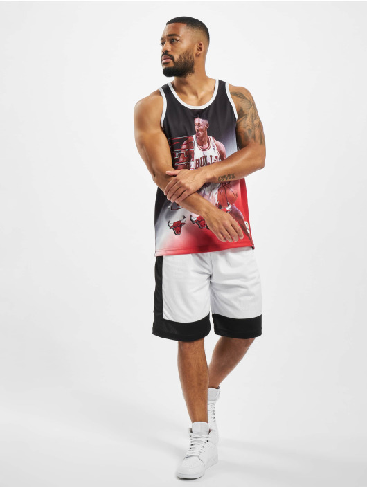 Mitchell & Ness Tank Tops NBA Chicago Bulls Behind The Back schwarz